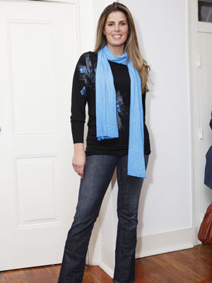 Carla Caldeira: Visivelmente mais magra, a empresária volta à moda