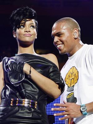 Chris Brown e Rihanna gravam um dueto