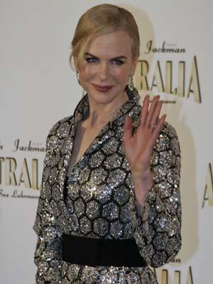 Nicole Kidman: uma mãe dedicada