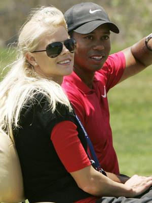 Tiger Woods foi pai de um menino