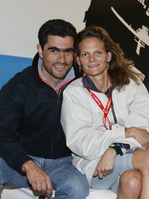 Pedro Couceiro de férias no Algarve com a namorada, Maria, e a filha, Inês