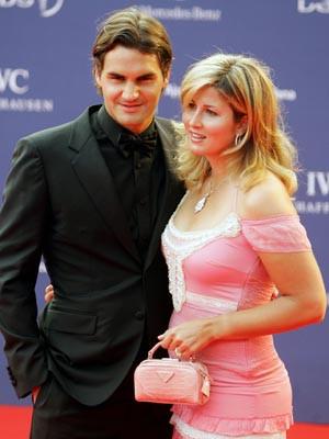 Roger Federer casou-se