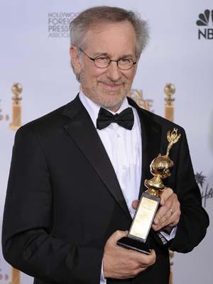 Steven Spielberg recebe prémio carreira
