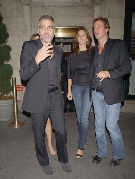 George Clooney, Cindy Crawford e Rande Gerber