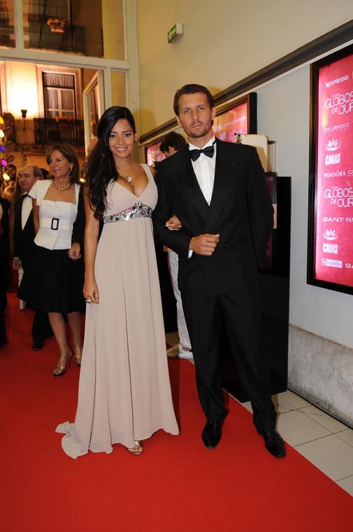 Mónica Sofia e Rubim Fonseca, na XIV Gala dos Globos de Ouro