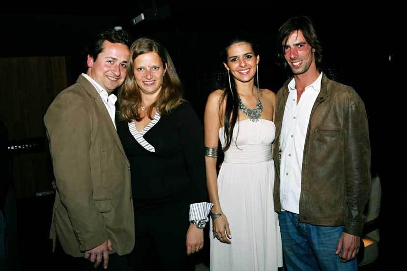 Miguel e Stéphanie Capucho com Cuca Roseta e Gonçalo Almeida