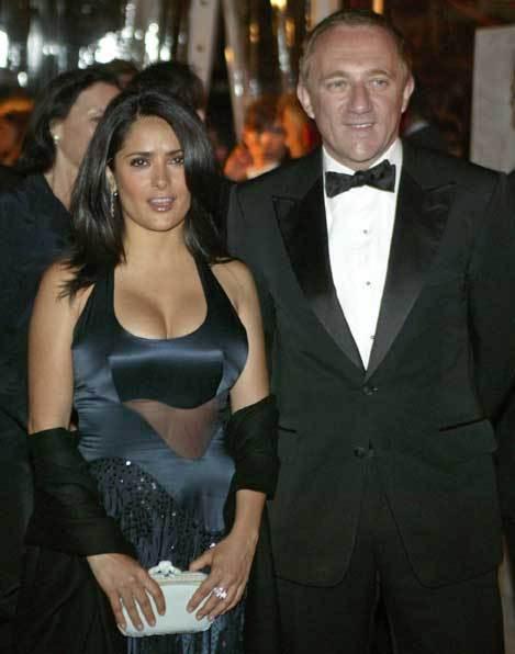 Salma Hayek e François-Henri Pinault