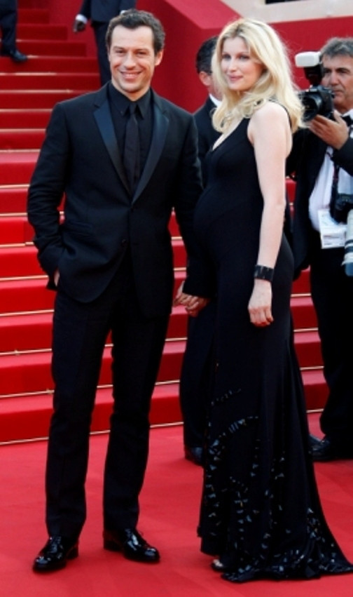 Laetitia Casta e Stefano Accorsi, no Festival de Cinema de Cannes