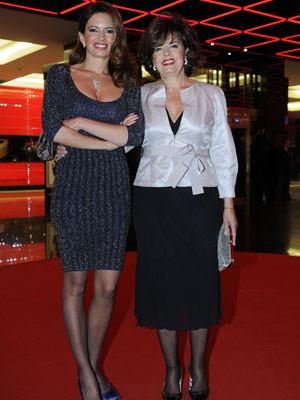 Bárbara Guimarães partilha interesse pela sétima arte com a mãe, Isabel
