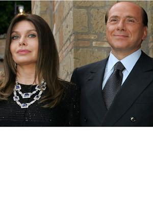 Mulher de Sílvio Berlusconi recusa o estatuto de primeira-dama