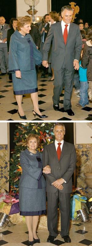 Maria e Aníbal Cavaco Silva preparam um Natal diferente