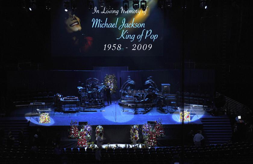 Último adeus a Michael Jackson