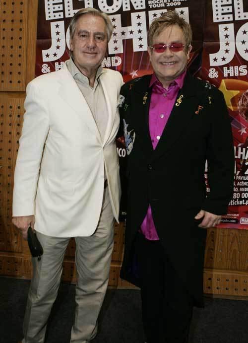 Mário Assis Ferreira e Elton John