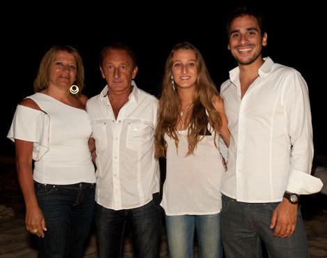 Ana Maria, Fernando e Ana Cristina Póvoas e Pedro Costa