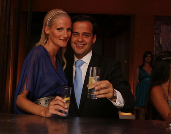 Fiona Bunnett e André Leal