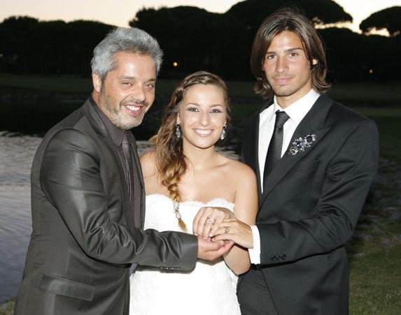 Gil Sousa com os noivos