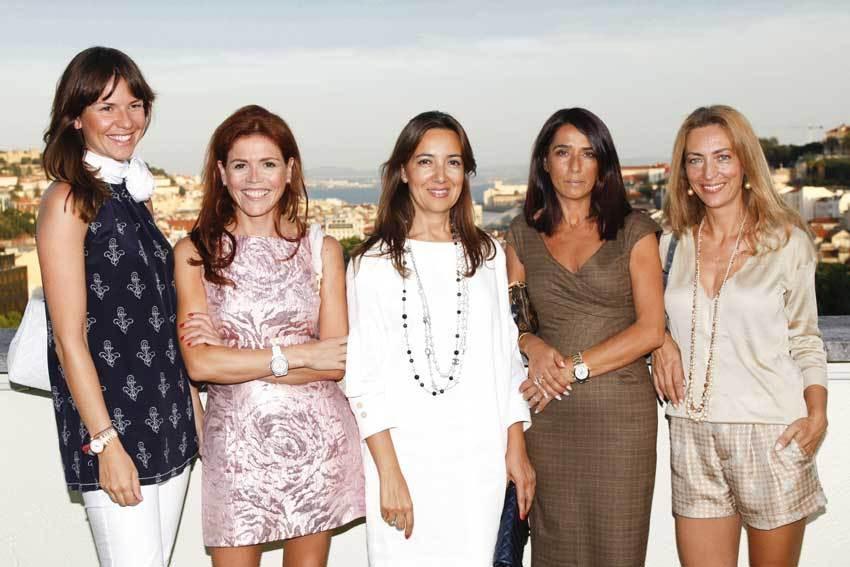 Caras conhecidas na inauguração do Sky Bar, o novo espaço do Hotel Tivoli Lisboa
