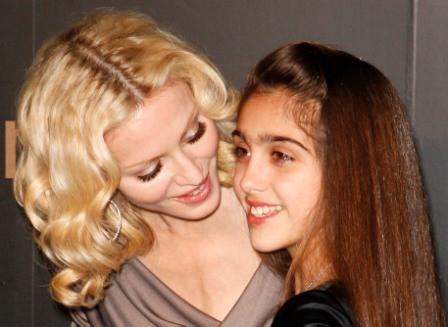 Madonna e Lourdes Maria: cúmplices também na música