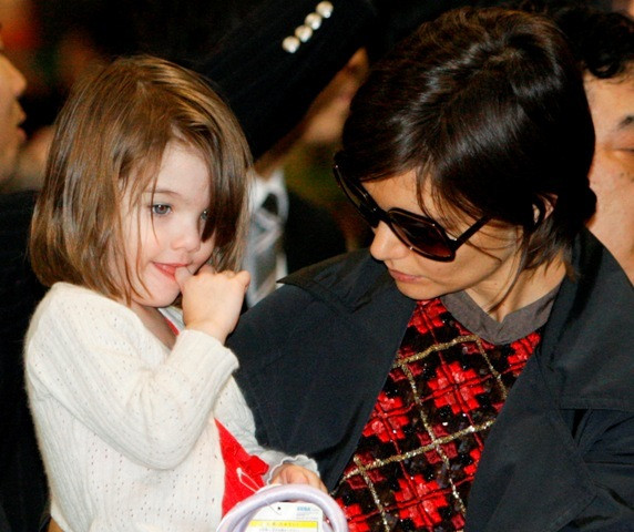 Katie Homes com a filha, Suri Cruise