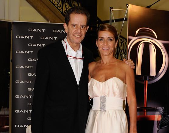 António Feio e Alexandra Sousa na XIV Gala dos Globos de Ouro