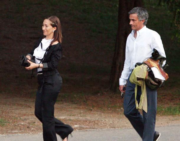 Matilde e José Mourinho