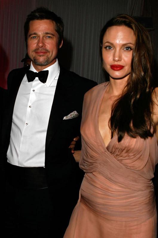 Brad Pitt e Angelina Jolie na 62.ª edição do Festival de Cannes (Maio 2009)