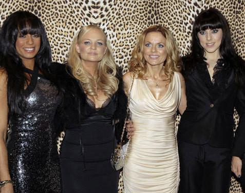 Melanie Brown, Emma Bunton, Geri Halliwell e Melanie Chisholm