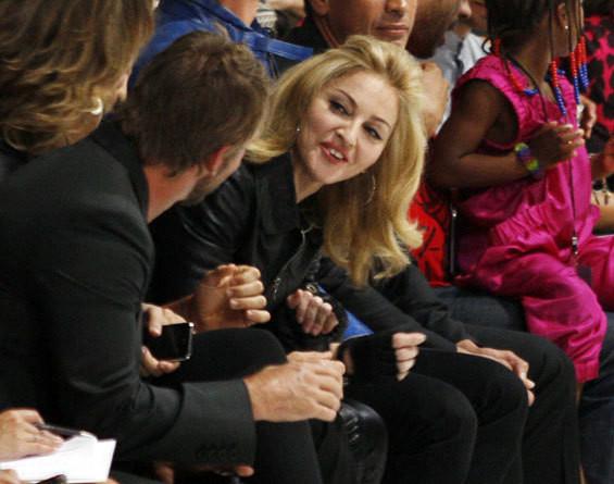 Madonna na Semana da Moda de Nova Iorque
