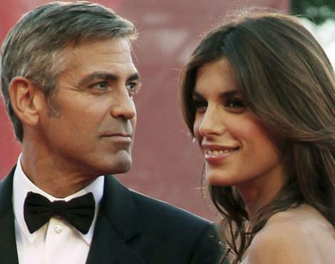 Geroge Clooney e Elisabetta Canalis