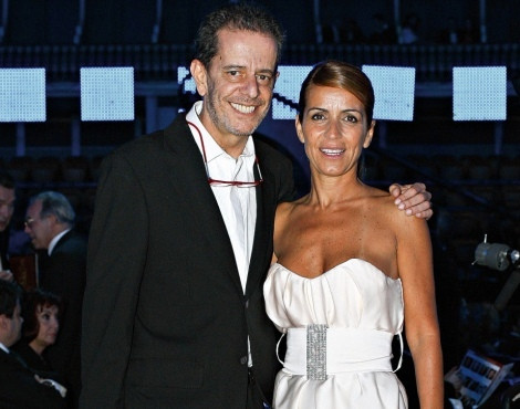 António Feio e Alexandra Sousa