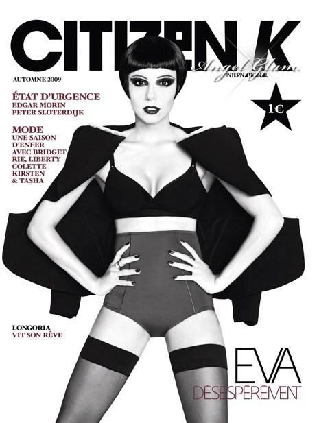 Eva Longoria na capa da Citizen K