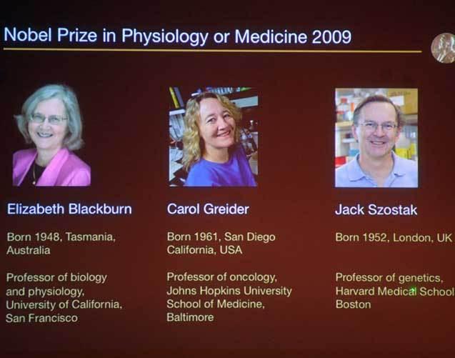 Prémios Nobel da Medicina 2009