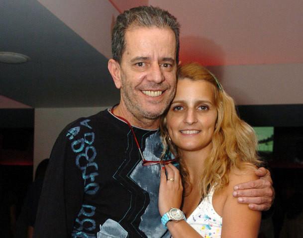 António Feio e a filha mais velha, Catarina