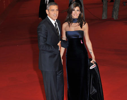 George Clooney e Elisabetta Canalis