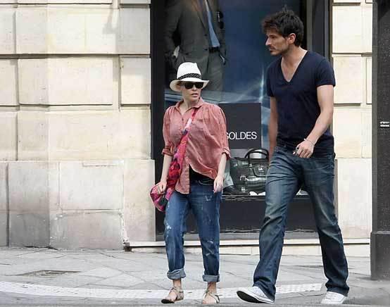 Kylie Minogue e Andrés Velencoso