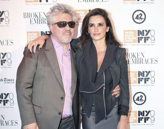 Pedro Almodóvar e Penélope Cruz