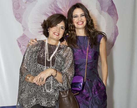 Bárbara Guimarães com a mãe, Isabel Teixeira Pinto