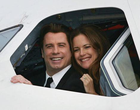 John Travolta e a mulher, Kelly Preston