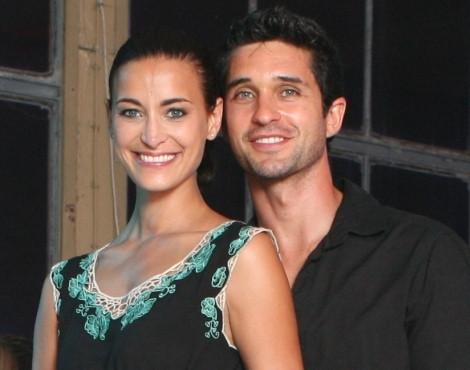 Andreia Dinis e Daniel Teixeira