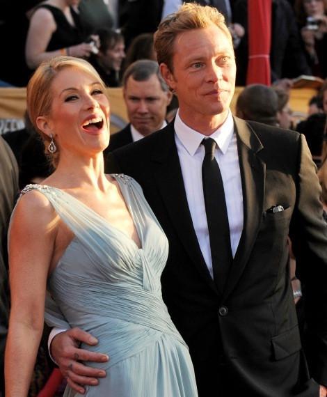 Christina Applegate e Martyn Lenoble