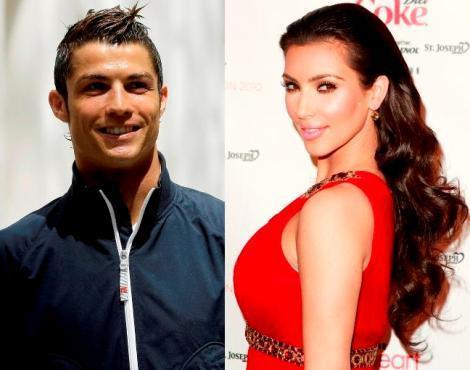 Cristiano Ronaldo e Kim Kardashian