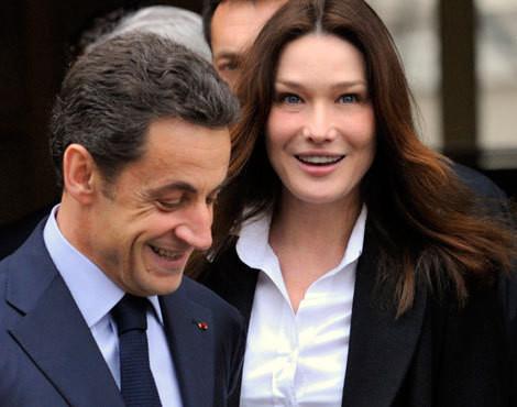 Nicolas Sarkozy e Carla Bruni