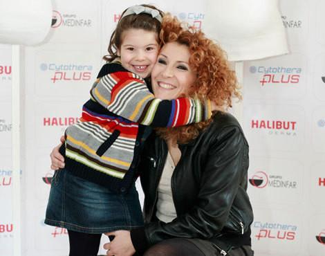 Mafalda Vilhena e a filha Júlia