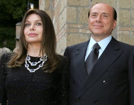 Verónica Lario e Silvio Berlusconi