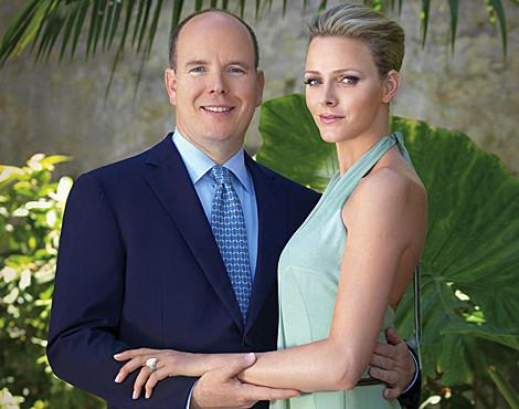 A foto oficial do noivado