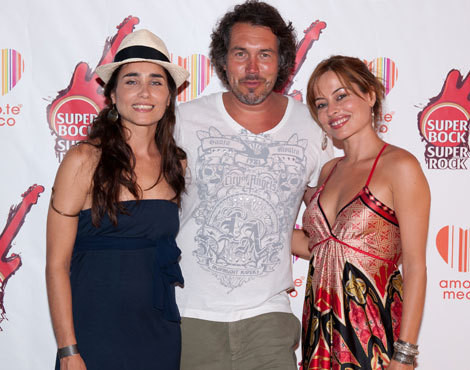 Sandra Celas, Pedro Miguel Ramos e Carla Salgueiro