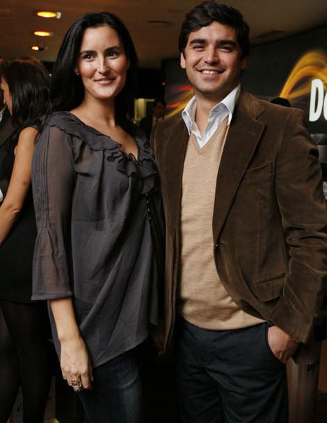Patrícia Claro e Dani