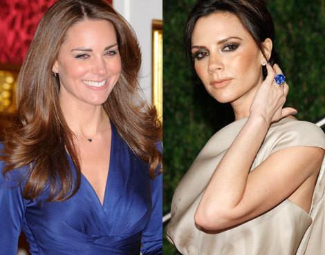Kate Middleton e Victoria Beckham