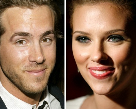 Ryan Reynolds e Scarlett Johansson