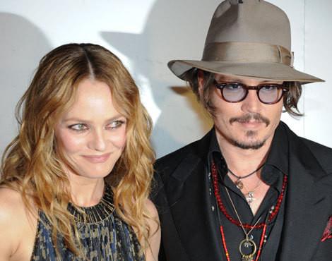 Vanessa Paradis e Johnny Depp